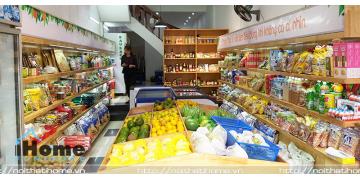 Mẫu thiết kế nội thất shop thực phẩm sạch tại Hải Phòng