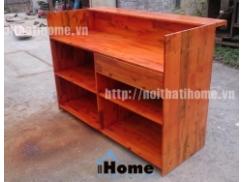 Quầy bar gỗ thông đẹp 001