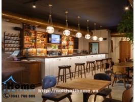 Thiết kế nhà hàng phong cách cổ điển Hải Phòng