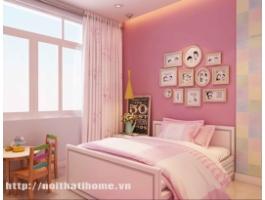 Thiết kế nội thất phòng ngủ đẹp tại Hải Phòng cho mùa cưới 2017