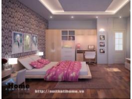 Thiết kế nội thất phòng ngủ đẹp tại Hải Phòng - Phong cách hiện đại