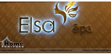 Thiết kế phòng Spa Elsa tại Trần Nguyên Hãn, Hải Phòng