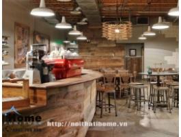 Thiết kế quán cafe phong cách cổ điển Hải Phòng