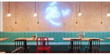 Thiết kế quán café theo phong cách Retro