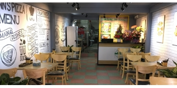 Thiết kế và thi công trọn gói cửa hàng Ann's Pizza