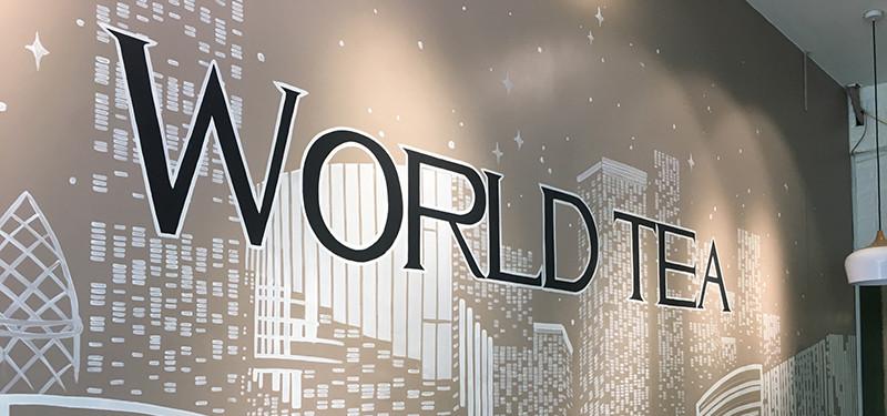hình ảnh Khám phá thiết kế quán cafe đẹp độc WORLD TEA-  59 Tôn Đức Thắng, Lê Chân, Hải Phòng