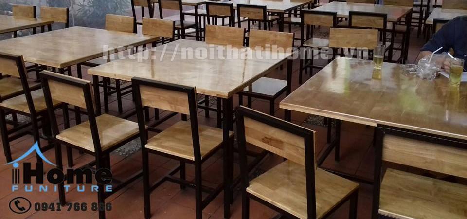 hình ảnh Bàn ghế nhà hàng quán ăn đẹp sang trọng tại Hải phòng.