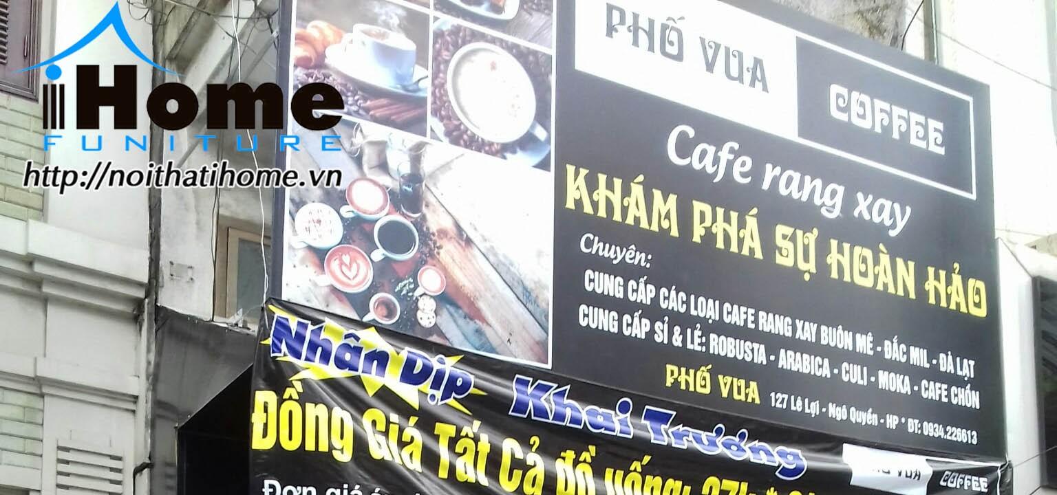 hình ảnh Cafe Phố Vua 127 Lê Lợi, Hải Phòng