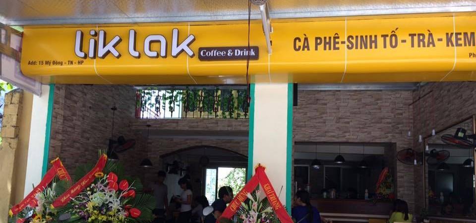 hình ảnh Thiết kế nội thất quán Cà phê Lik Lak Coffee số 15 Mỹ Đồng, Thủy Nguyên, Hải Phòng