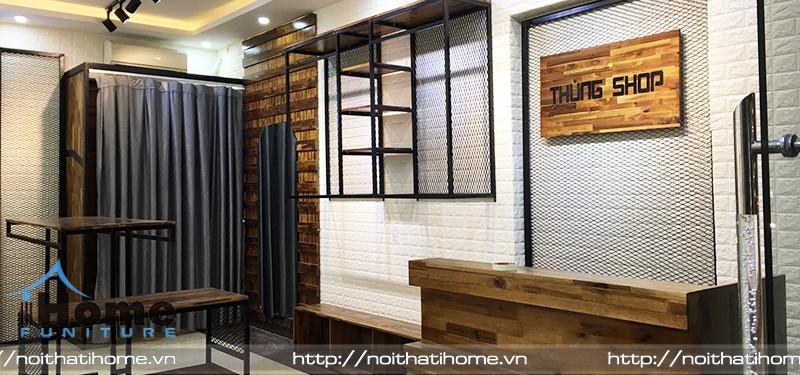 hình ảnh Mẫu thiết kế shop quần áo nam Thùng Shop Thủy Nguyên, tại Hải Phòng chất lừ
