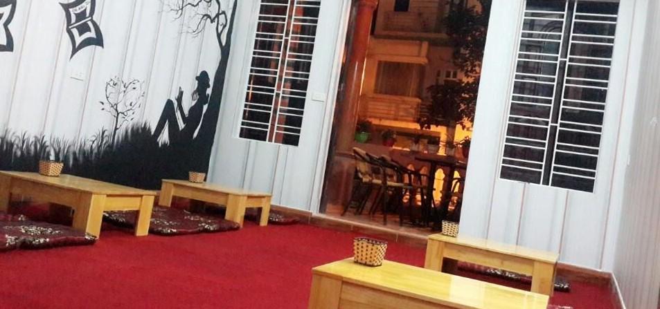hình ảnh Quầy bar, bàn ghế cafe phong cách tại cafe Organo số 433 lô 22 Lê Hồng Phong