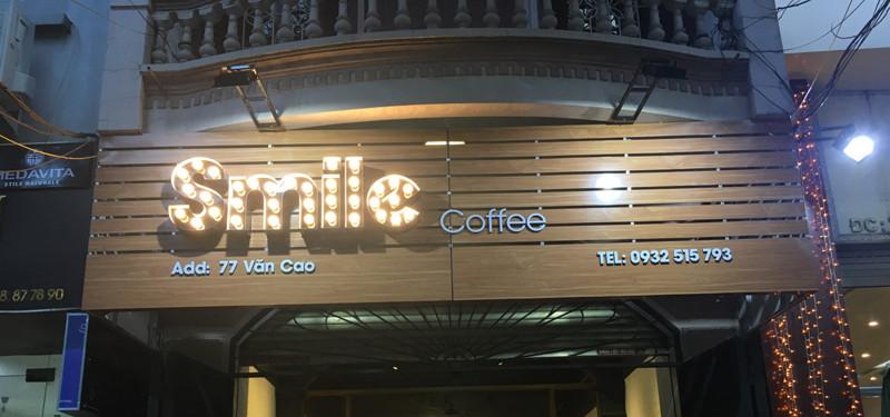 hình ảnh Smile Coffee - Khách hàng thiết kế và thi công quán cafe