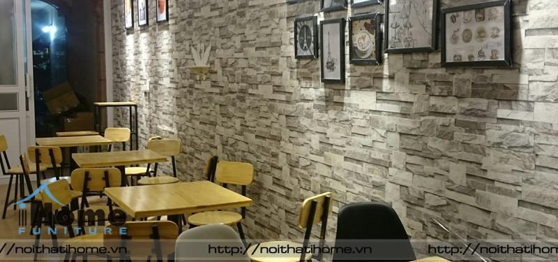 hình ảnh Thi công quán cà phê Mr.Zero Tea and Coffee, Kinh Môn, Hải Dương