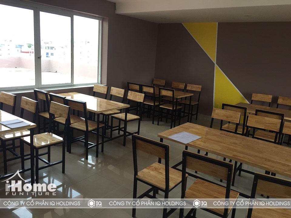 hình ảnh Thiết kế bàn ghế nhà ăn bệnh viện đa khoa Hồng Phúc Hải Phòng