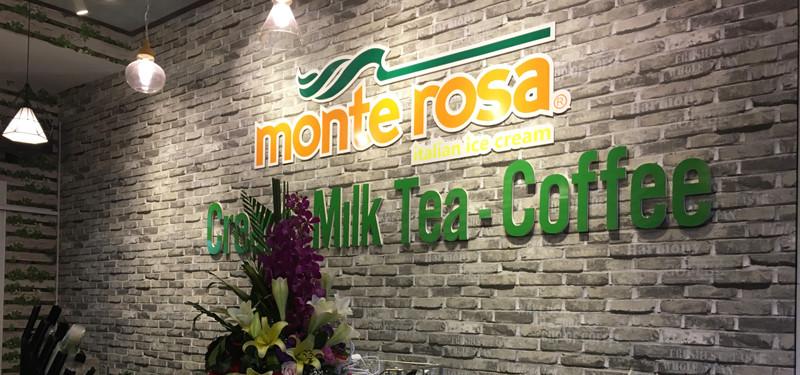 hình ảnh Thiết kế cửa hàng kem Ý - MonteRosa 520 Tôn Đức Thắng, Hải Phòng
