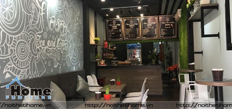 hình ảnh Thiết kế nội thất quán cafe nhỏ mặt phố
