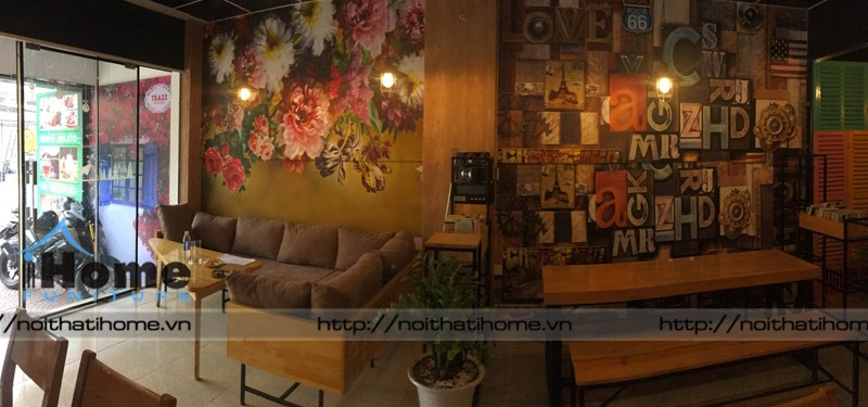 hình ảnh Thiết kế nội thất quán cafe Tea 22