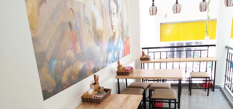 hình ảnh Thiết kế và thi công nội thất quán canh cá tại 34 Đình Đông, Hải Phòng