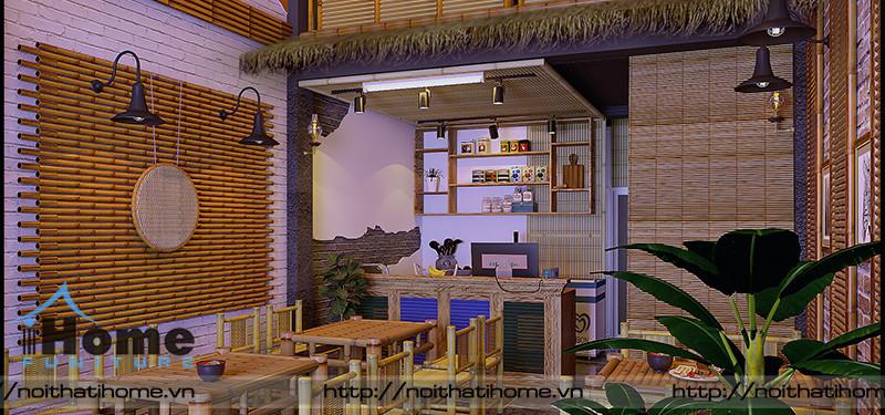 hình ảnh Thiết kế nội thất quán Cháo Thỵ Nở, 25 Lê Lợi, Hải Phòng