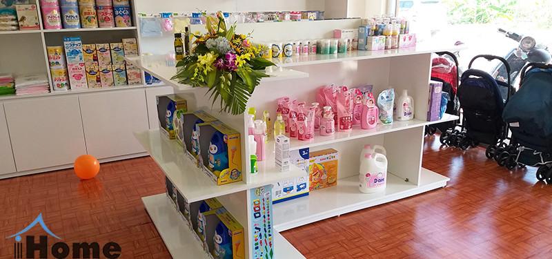 hình ảnh Thiết kế nội thất shop quần áo mẹ và bé Baby Shop diện tích nhỏ tại Hải Phòng