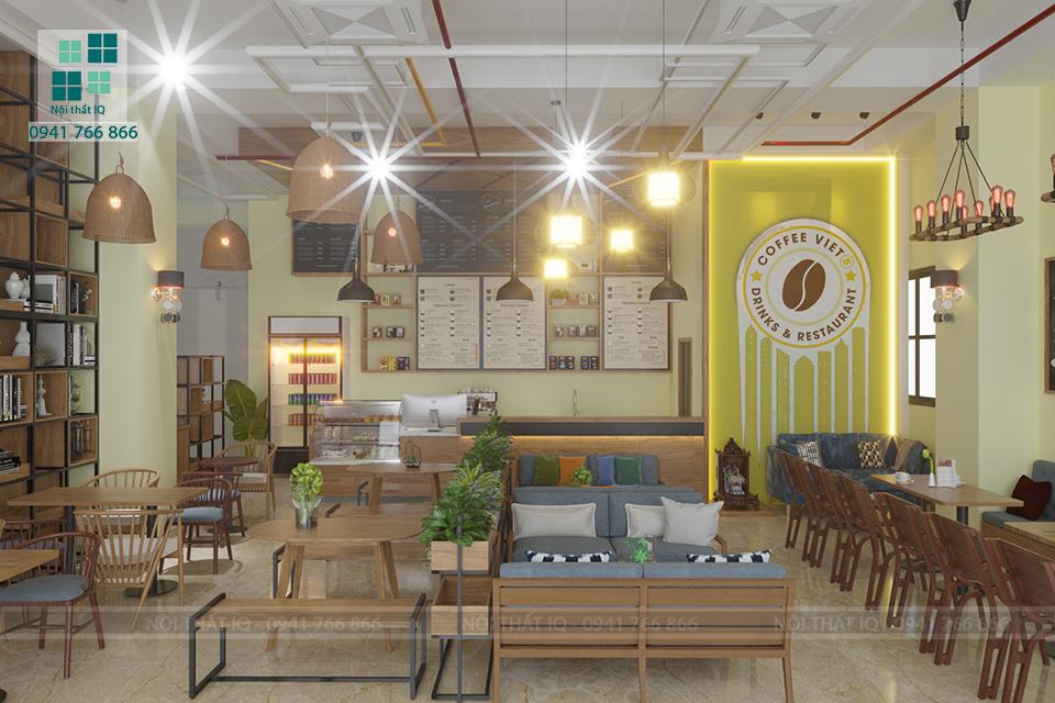 hình ảnh Thiết kế setup trọn gói quán cafe giá rẻ tại Hải Phòng. Nên hay không?