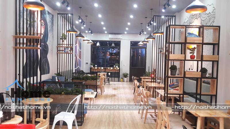 hình ảnh Thiết kế thi công nội thất quán Noble Cafe tại Tứ Kỳ Hải Dương