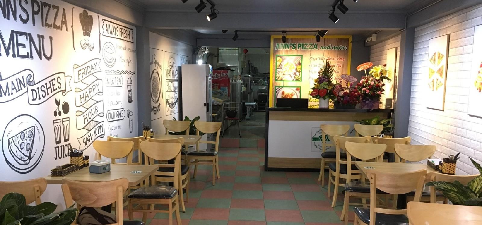 hình ảnh Thiết kế và thi công trọn gói cửa hàng Ann's Pizza