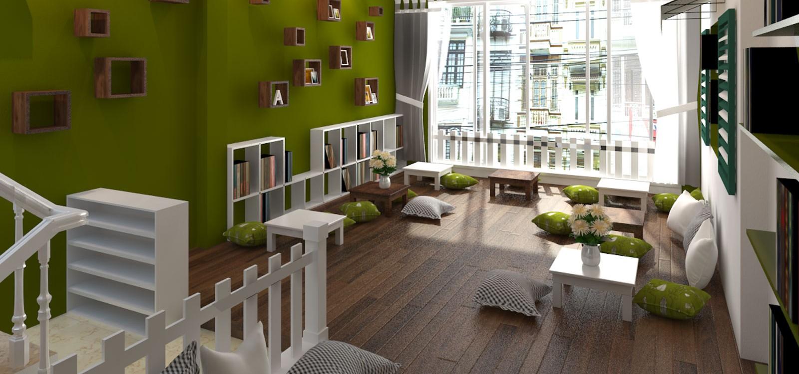 hình ảnh Xu hướng sử dụng bàn ghế cafe thiết kế đơn giản, phong cách