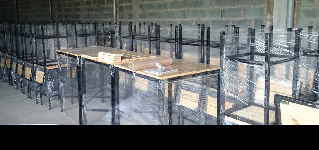 hình ảnh Xu hướng sử dụng gỗ thông pallet làm bàn ghế tại Hải Phòng