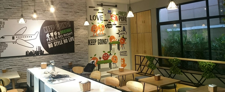Thiết kế - thi công trọn gói quán cafe, trà sữa